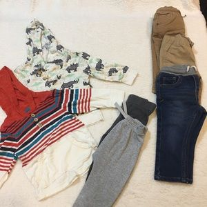 Cat & Jack Toddler T-Shirts and Pants Lot! EUC!